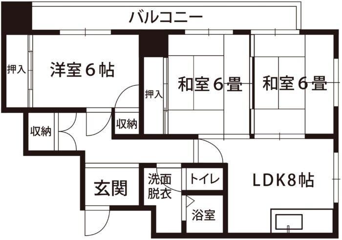 (株)ティー・オー・エス ハイツ中島601号室